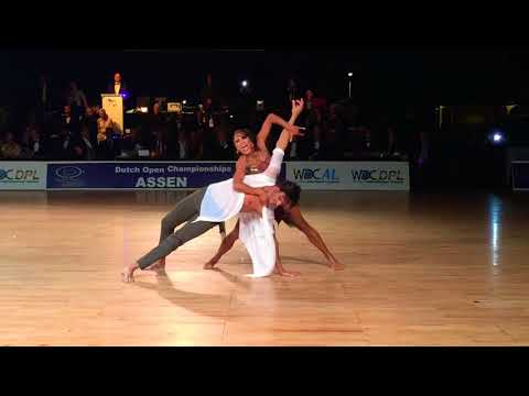 WDC Dutch Open - Assen - Victor Da Silva and Anna Melnikova 2017