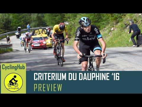 Criterium du Dauphine Preview FT. David Hunter - 2016