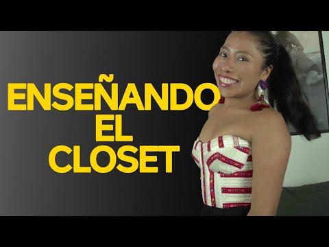 Enseñando el closet - Yalitza Aparicio