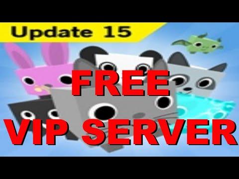 2020 Works Free Vip Server Pet Simulator Roblox Youtube