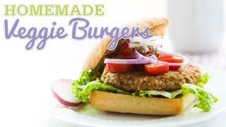 Meatless Monday - Homemade Veggie Burgers
