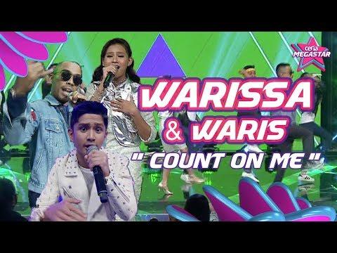 Happening habis Warissa & Waris Count on Me mashup Untuk Dia | Ceria Megastar Separuh Akhir