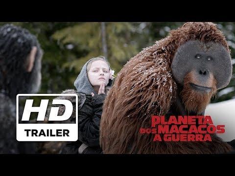 Planeta dos Macacos: A Guerra | Trailer Oficial 2 | Legendado HD