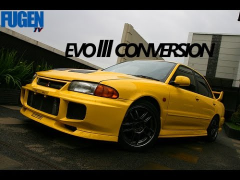 Mitsubishi Lancer to Evolution 3 Conversion [MITSUBISHI EVOLUTION III] [FUGEN TV]