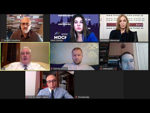 Видеоконференция 'Москва-Баку'. Российские