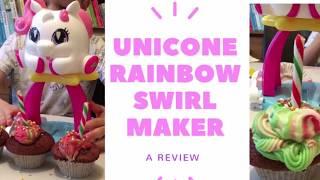 Gambar cover Unicone Rainbow Swirl Maker #Review