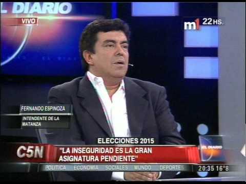 C5N - ELECCIONES 2015: ENTREVISTA A FERNANDO ESPINOZA