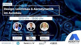 """ADDITIV Automotive: """"Design: Leichtbau & Aerodynamik im Autobau"""""""