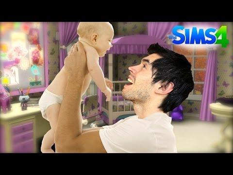YA SOY PADRE!!  Los Sims 4 5  JuegaGerman