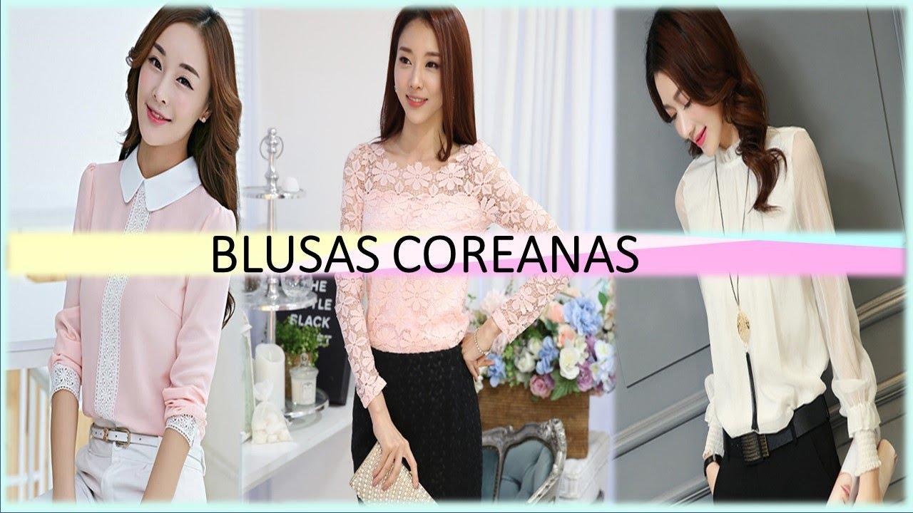 966547300 BLUSAS COREANAS - MODA COREANA - YouTube