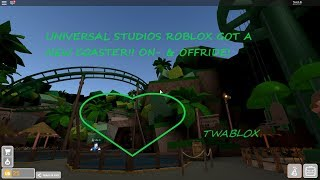 (1080p50) Universal Studios Roblox - New coaster!! ONRIDE FRONT ROW + BACK ROW!