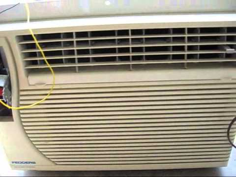 Fedders Window Air Conditioner Project - YouTube