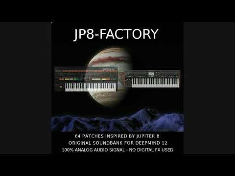JP8-FACTORY BANK FOR BEHRINGER DEEPMIND 12 DEMO
