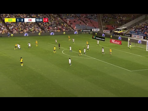 Matildas Vs Chile International 13-Nov-2018