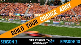 Build Your Verstappen Orange Army - Enzo Mucci TRDC Show S3 E10
