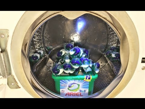 Experiment - 1 Kg. Of Pods - In A Washing Machine