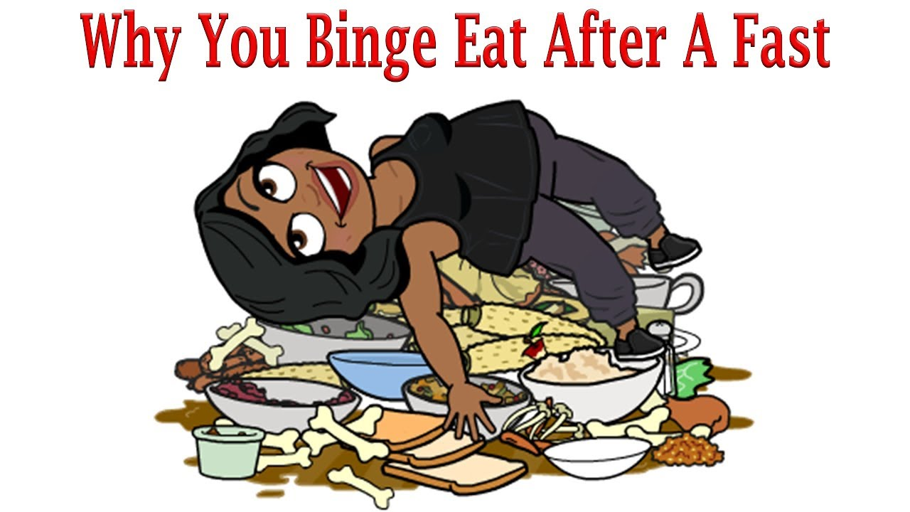 Prevent Binge Eating After A Water Fast Youtube