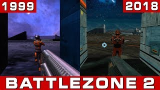 Battlezone 2: Original vs Remaster (1999 vs 2018) Comparison