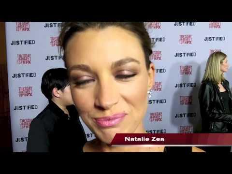 Natalie Zea Talks JUSTIFIED Season 5