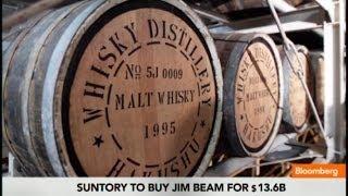 Suntory Beam Buy Puts Japanese Spin on U.S. Whiskey