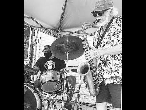 Jim Ryan (flute) & Nik Francis (drums) @ 2017 Capital Fringe Festival
