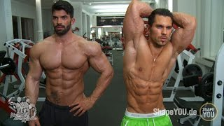 Sergi Constance and Alon Gabbay - Chest Shoulders Workout #BeLEGEND