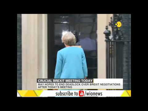 British Prime Minister Theresa May to meet EU Chief Jean-Claude Juncker