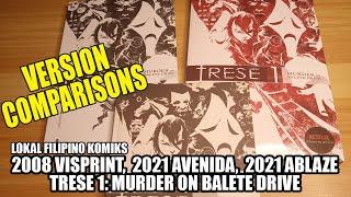 Filipino Komiks: Trese Comparisons