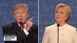Donald Trump Says Putin Has 'No Respect' for Hillary Clinton