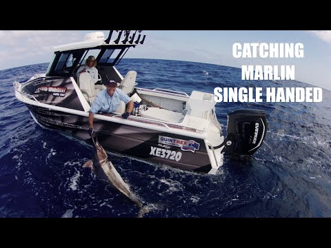 EP 18 - Catching Marlin Single Handed | ESCAPE FISHING WITH ET