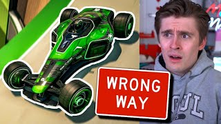 Can 3 Gamers Beat a Trackmania Pro Driving Backwards