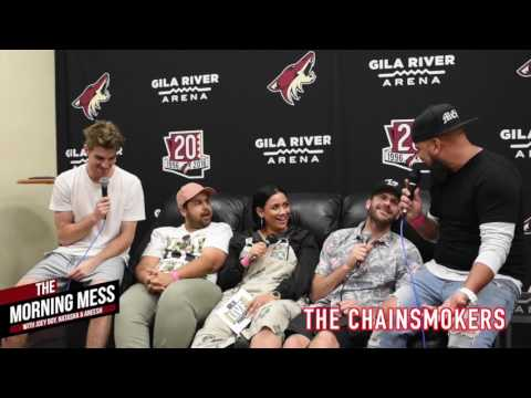 The Chainsmokers Interview with The Morning Mess