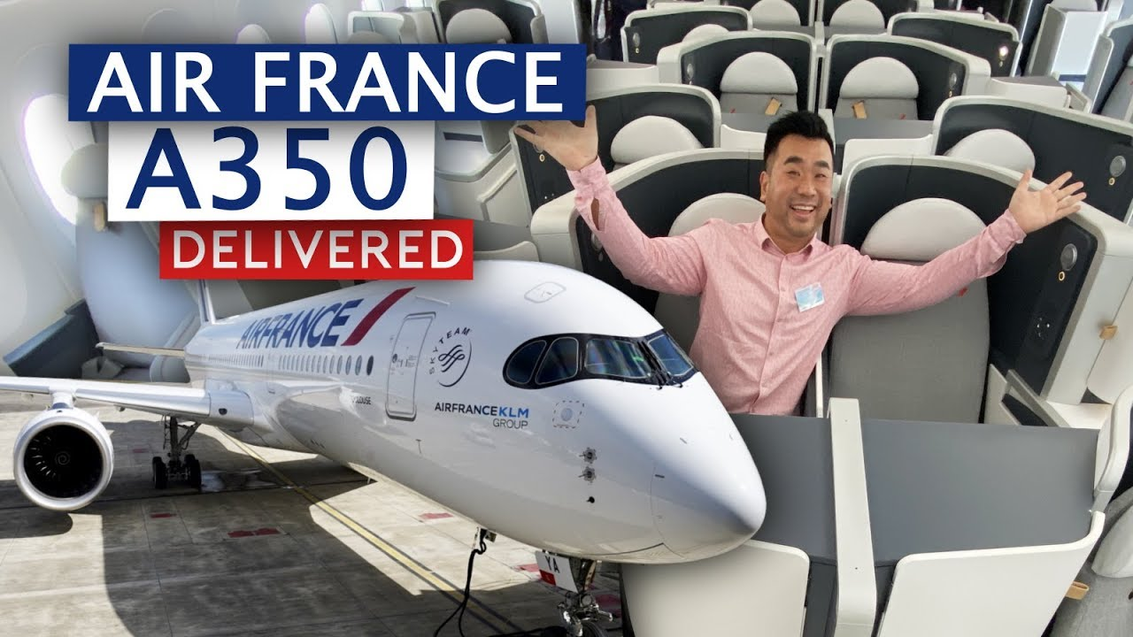 Air France First Airbus A10 Delivered My Shortest Delivery Flight