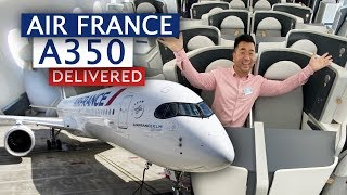 air-france-first-airbus-a350-delivered-shortest-delivery-flight