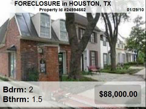 Houston - Foreclosures For Sale