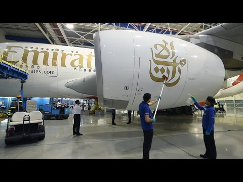 Mannequin Challenge with Emirates Airbus A380 | Emirates Airline