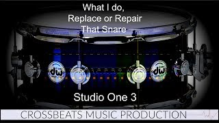 Studio One 3.5 | Making A Harsh Snare Better