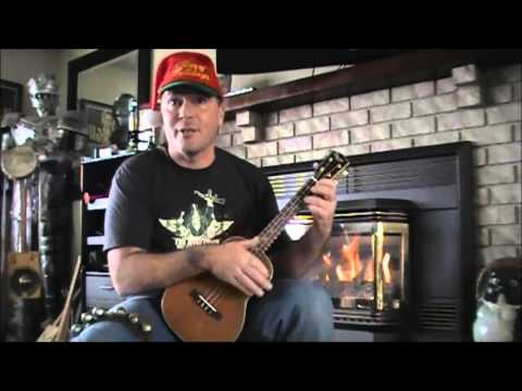 Christmas Balls (John Boy & Billy Cover) Funny Novelty Song on uke and sleigh bells