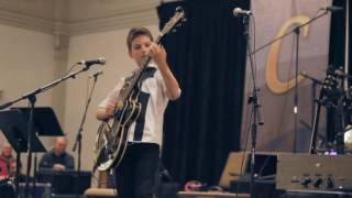 Frano plays Scotty Moore's guitar - Windy & Warm │ [Live] [12yr]