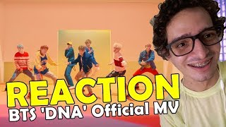REACTION / BTS (방탄소년단) 'DNA' Official MV - REAGINDO A K-POP