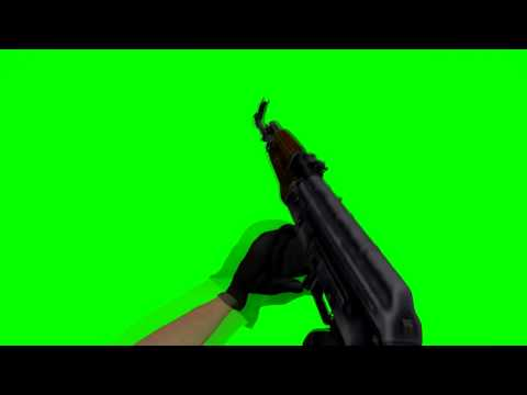 AK-47 | Default | CS:GO Greenscreen by MaxisaMust