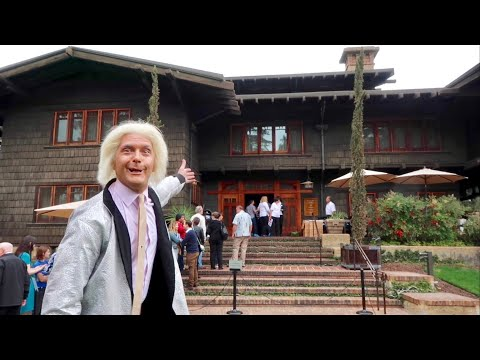 Back To The Future Celebration : Inside Doc Brown's Mansion / Gamble House