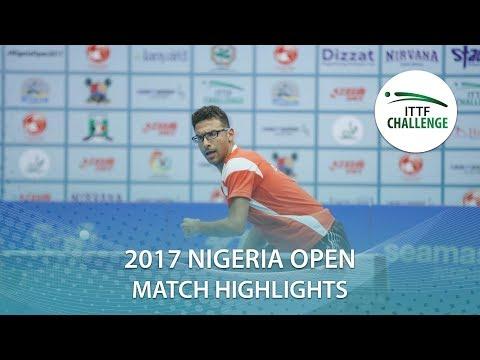 2017 Nigeria Open Highlights: Omar Assar vs Sarthak Gandhi (Final)