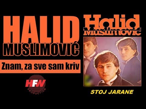 Halid Muslimovic - Znam, za sve sam kriv - (Audio 1983) HD