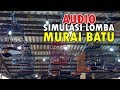 Audio Simulasi Lomba Murai Batu  Mp3 - Mp4 Download