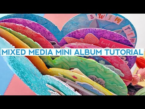 Mixed Media Mini Album Tutorial