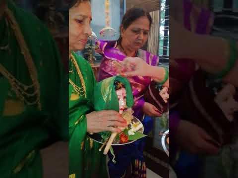 Ganpati,  Gauri Pujan / Agman ( गणपती, गौरी पुजन /आगमन )