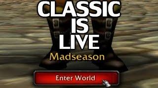 WoW CLASSIC IS LIVE! Plans - Server, Guild, Endgame, PvE, PvP