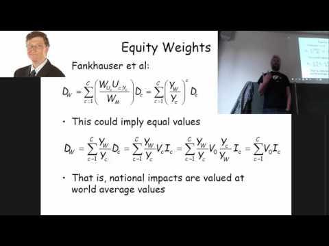 Climate economics (PG): Equity
