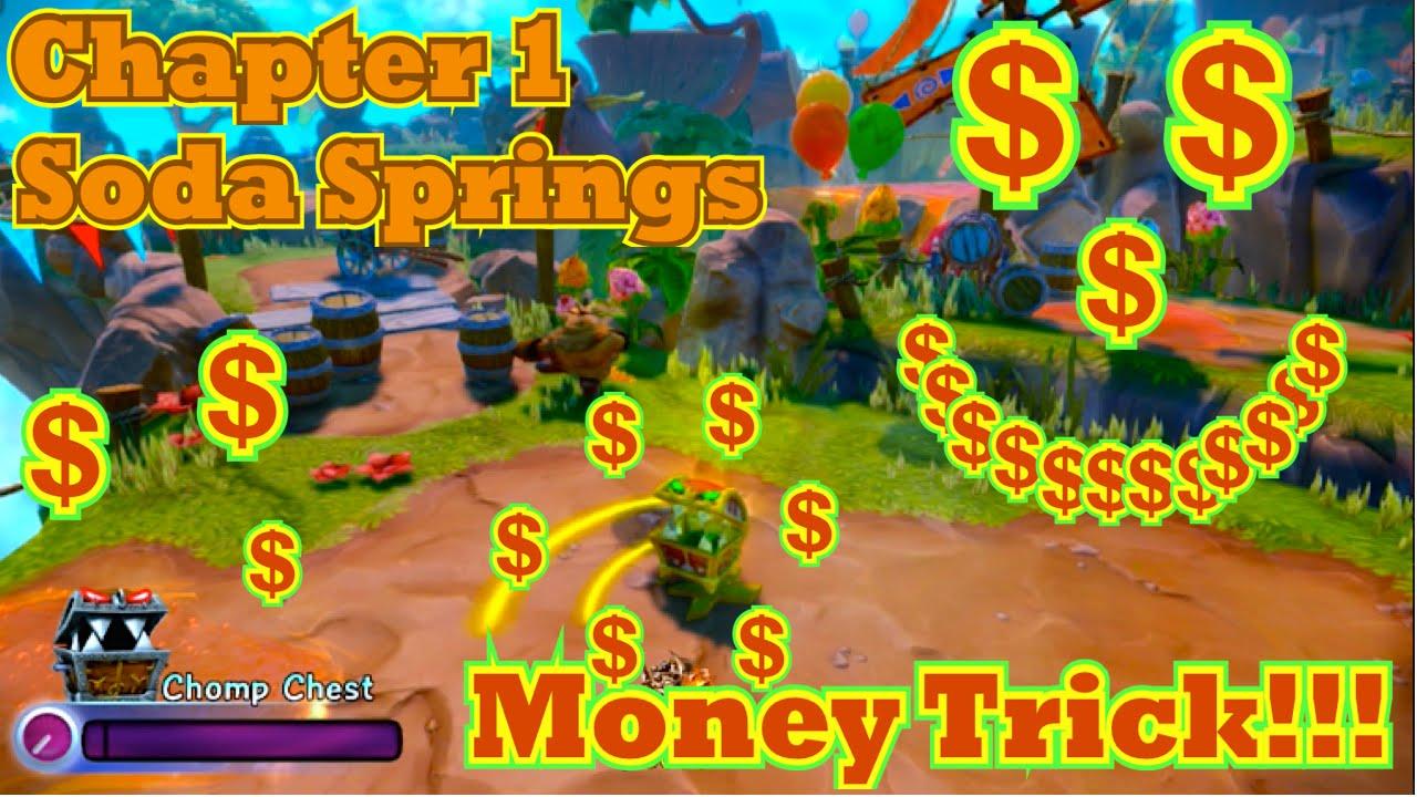 skylanders trap team chomp chest money trickcheat